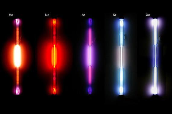 گازهای نجیب از ساخت لامپ تا پیشرانه فضایی